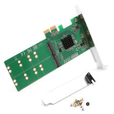PCI-e to 4 port M.2 B key SSD PCI Express Card to NGFF B+M Key SATA SSD Adapter