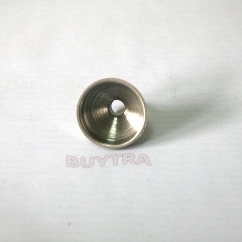Flasks*vRSZ8 Trendy 2pcs Stainless Steel Mini Funnel for Essential Oil Bottles