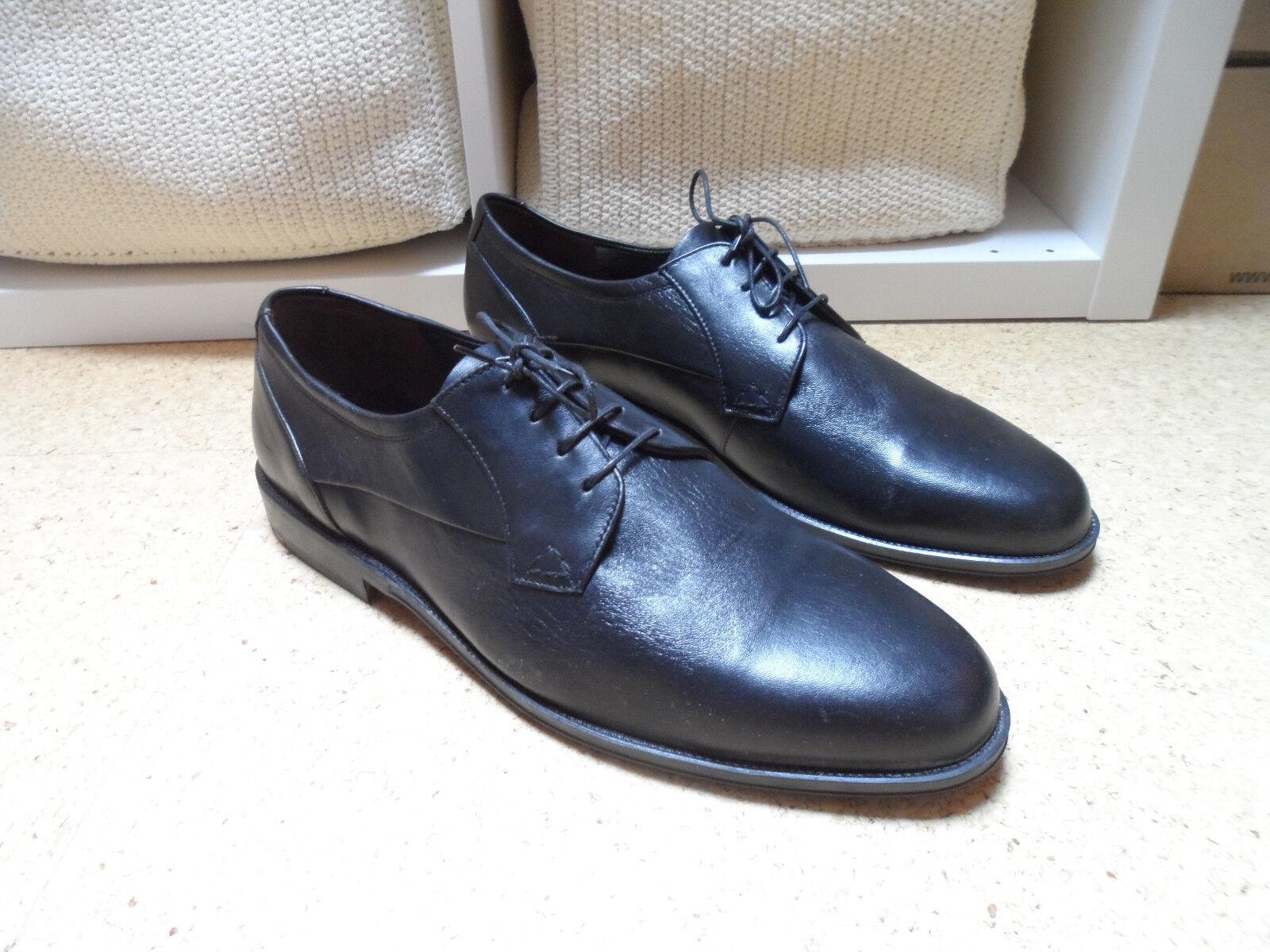 Lloyd Herren Echtleder Schuhe Gr.47 schwarz Businessschuhe Neu