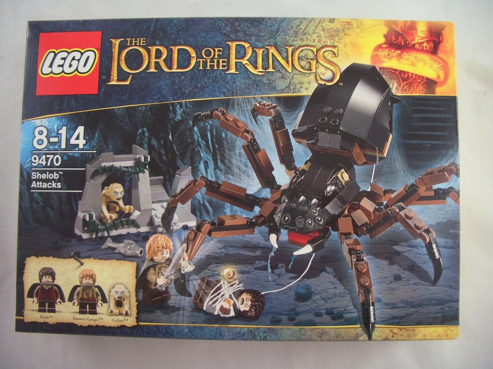 LEGO The Lord of the Rings 9470 Shelob Attacks New Sealed