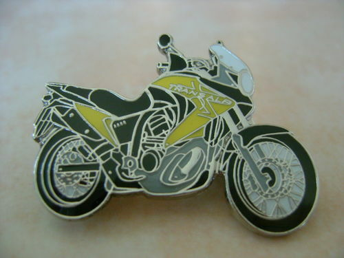Honda Transalp Yellow Hat Pin Lapel Pin