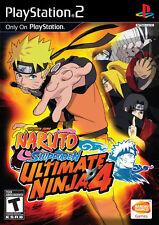 Naruto: Ultimate Ninja 4 PS2 New Playstation 2