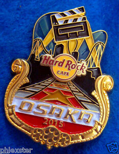 UNIVERSAL OSAKA ICON CITY SERIES 2015 MOVIE RED CARPET Hard Rock Cafe PIN #86408