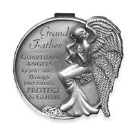 Grandfather Guardian Angel Visor Clip (15685) Angelstar Carded
