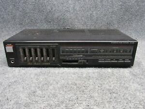 FISHER-Model-CA-226-Integrated-Stereo-Amplifier-w-Graphic-Equalizer-Audio-Deck
