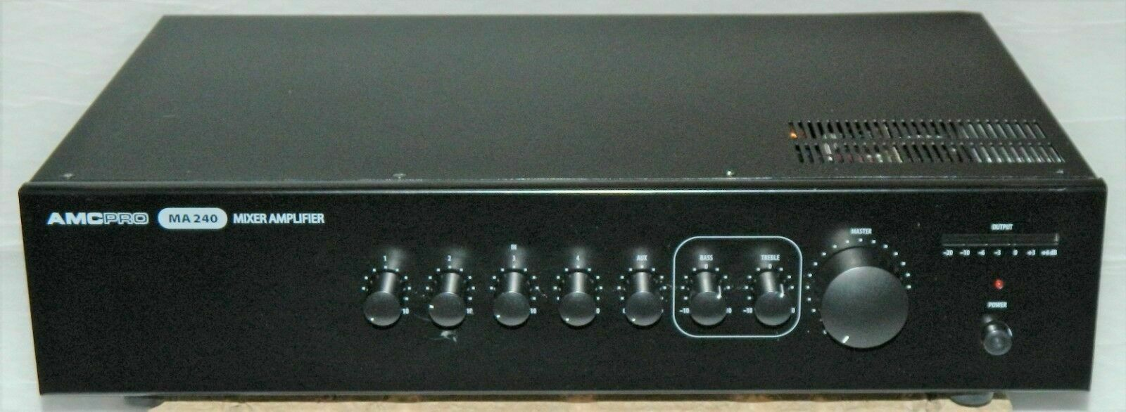 AMC PRO MA-240 ELA Mikro Line Mischverstärker (100V) 240W RMS NEUPREIS =