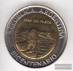 Argentinien-KM-Nr-158-2010-Stgl-unzirkuliert-Bi-Metallic-Aluminium-Bronze-20