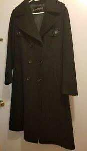 Femmes Trench 14 Taille pouces Noir Coat 43 Longueur Lord Taylor qwHC0Hp