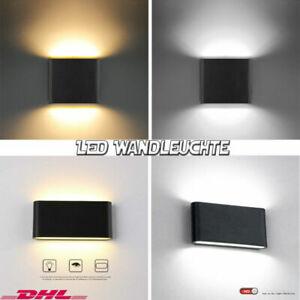 LED Wandleuchte Innen Wandlampe Up Down  Modern Wandbeleuchtung Flurlampe 6//12W