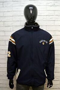 ECKO-UNITD-XL-Giubbotto-Double-Face-Giacca-Uomo-Giubbino-Cappotto-Jacket-Man-Blu