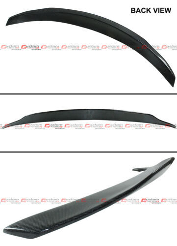 FOR 17-19 MERCEDES BENZ W205 2DR COUPE CARBON FIBER PSM STYLE TRUNK SPOILER WING