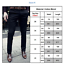 Men Casual Long Pants Slim Formal Chinos Khakis Straight Business Smart Trousers
