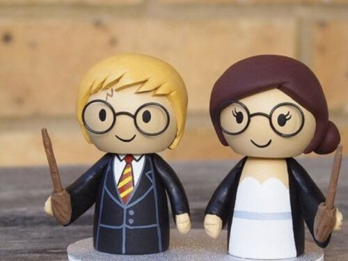 Harry Potter Wedding Themed Edible 3d Cake Topper Decoration Birthday Party