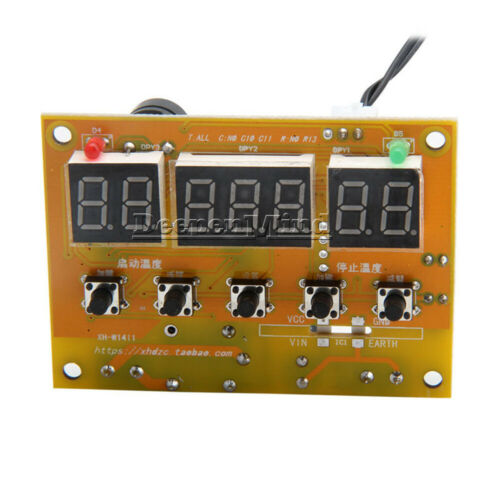 XH-W1411 Temperature Controller AC 110-220V LED Multifunction Thermostat Control