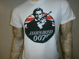be0e5be55 Retro JAMES BOND 007 T SHIRT Throwback GAP From Russia With Love ...