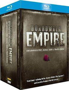 Boardwalk Empire: Seasons 1 2 3 4 1-4 [Blu-ray Box Set, Region Free, 19-Disc]