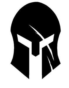Spartan Helmet Scar Vinyl Decal Helmet Sticker Iii 3