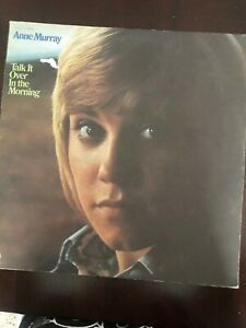 Vintage TALK IT OVER IN THE MORNING Anne Murray Vinyl Record Album LP