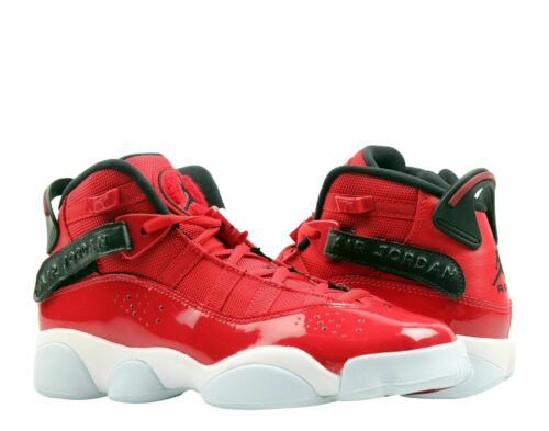 GS Jordan 6 RINGS Boys Grade School Gym Red//Black-White 323419 601 Shoes