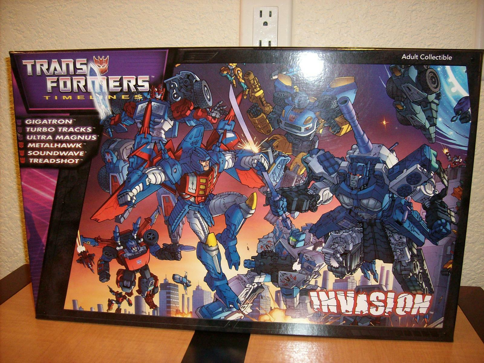 Transformers 2012 BOTCON Boxset MISB with certificate