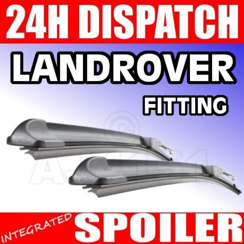 "Flat FX Wiper Blades Land Rover defender td etc 13//13/"""