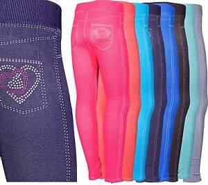 Das Bild wird geladen Leggings-Jeans-Optik-Kinder-Maedchen-Hose -Jeggings-Treggings- 5fbf9af9e0