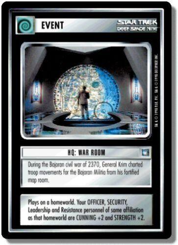 War Room Star Trek CCG DS9 Deep Space 9 HQ