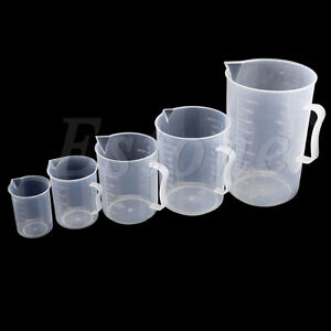 Plastic measuring cup 150ml 2000ml jug pour surface for Surface container