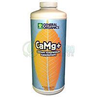 General Organics Camg+ Ca Mg + Calcium Magnesium Supplement Cal Mag 1 Qt Quart