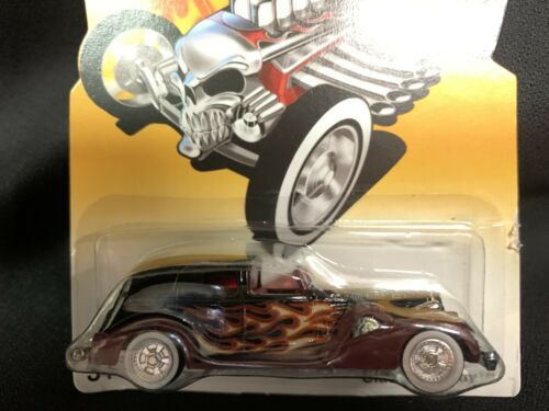 Hot Wheels Target 2007 Fright Cars Series Classic Caddy Black w// Real Riders