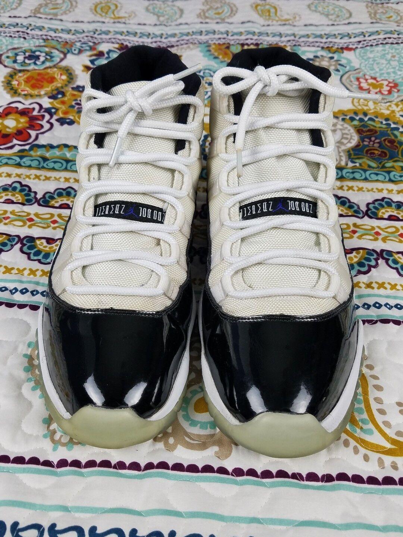 air jordan 11 rétro xi rétro 11 concord 2011 sz 12 baskets noirs blancs baskets 397ce1