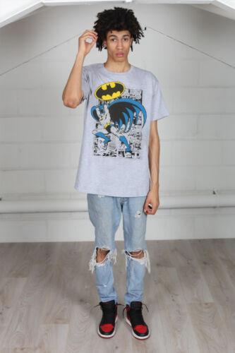 Officiel Batman Logo Pose Unisexe T-shirt super héros DC Comic book marvel Robin
