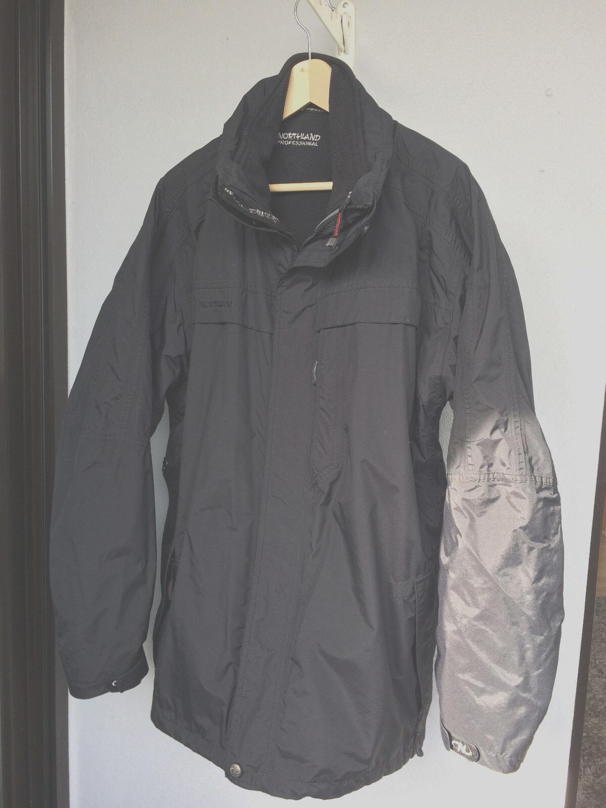 Herren Outdoorjacke v.Northland Proffessionals XXXL schwarz getragen getragen getragen fc83ce