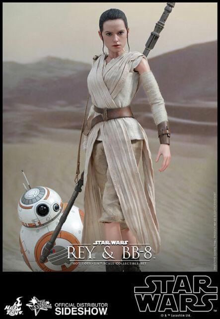 Hot Toys Rey /& BB-8 1//6 Figura Star Wars The Force despierta Movie Masterpiece F//S