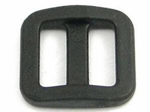 50 Stück Schieber Schlaufe Doppelschlaufe Stopper Gurtband 25 mm Gurtversteller