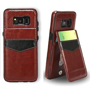 Samsung-Galaxy-S6-S7-S8-S9-S10-S10-e-Leather-Card-Wallet-Stand-Back-Cover-Case