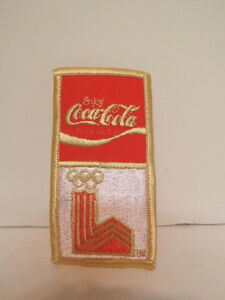 1980 Lake Placid Olympics Coca Cola Patch