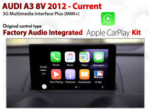 Audi A V Series Factory G MMi Apple CarPlay Retrofit Kit For - Audi car play