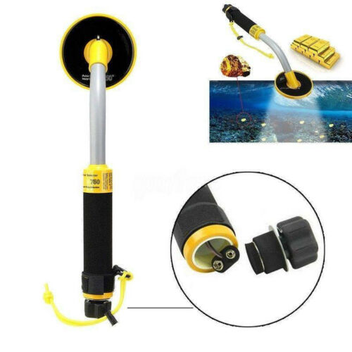 30M Underwater Pulse Induction Metal Detector Pinpointer Probe Gold Hunter Tool