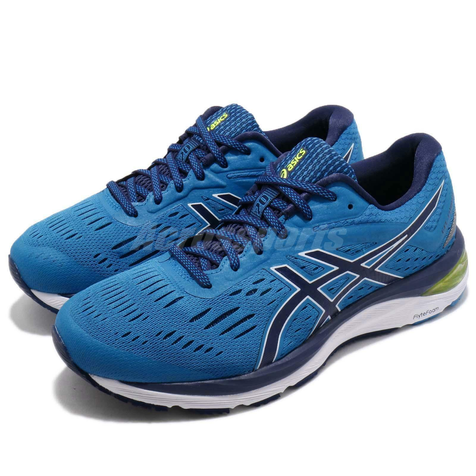 Asics Gel-Cumulus 20 blueee Peacoat White Men Running shoes  Sneakers 1011A008-400  first time reply
