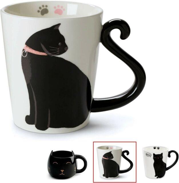 Black White Skull Mug for Lovers Ceramic Coffee Tea Milk Drink Mugs Cup Gift