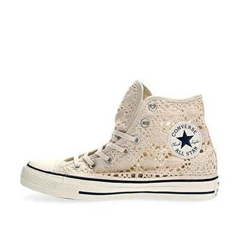 2628b5a5c43 Shoes Converse Chuck Taylor All Star Hi Crochet Brake Size 4 UK Code  552998C -9w for sale online | eBay