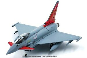 Jcwings Jcw722000002 1/72 Eurofighter Ef-2000 Typhoon No.29 (r) Squadron 2015 4895205500273