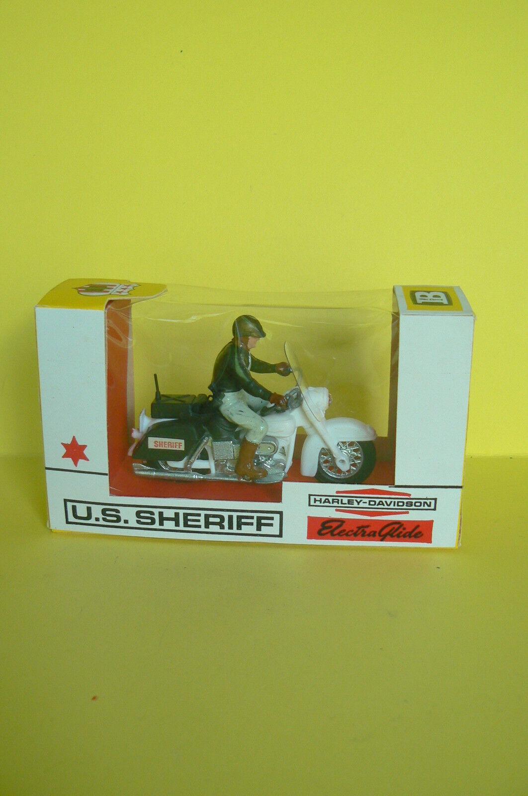 Britains LTD   HARLEY DAVIDSON Electra-glide US Sheriff