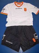 maglia shirt + short calcio messina 2016-17 givova taglia M nuova versione