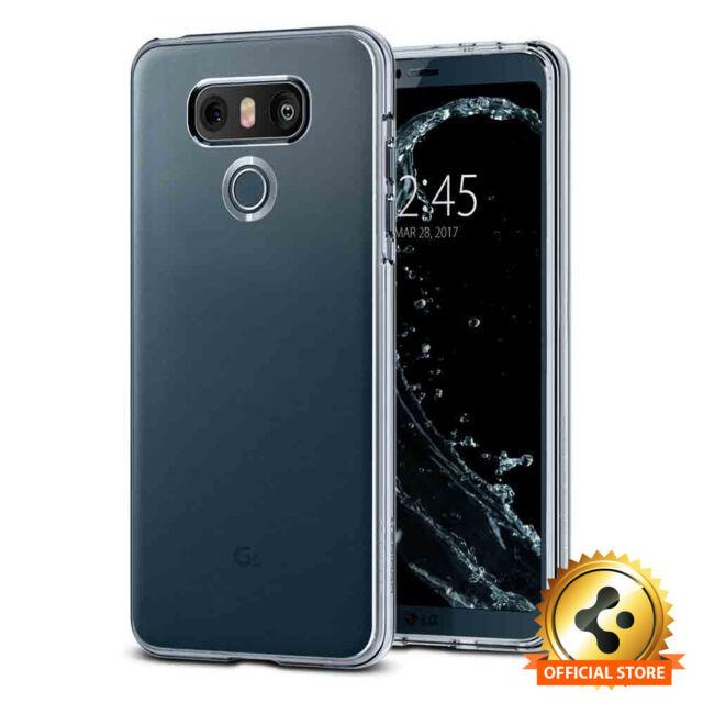 hot sale online cb539 5e791 Spigen for LG G6 Liquid Crystal Ultra Slim Clear TPU Lightweight Case Cover