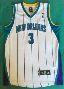 best sneakers 09057 368c4 Details about Authentic 48 ADIDAS #3 Chris Paul NEW ORLEANS HORNETS Jersey  SEWN Letters Number