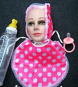 image is loading be a baby halloween costume pink baby bonnet