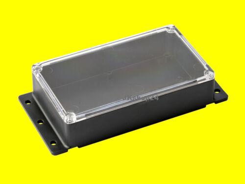KEMO G089N Standard-Wandgehäuse mit Klarsichtdeckel 121 x 71 x 31 mm Kunststoff