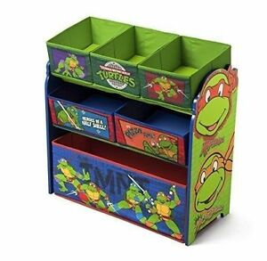 Superior Delta Children Multi Bin Toy Organizer Nickelodeon Ninja Turtles
